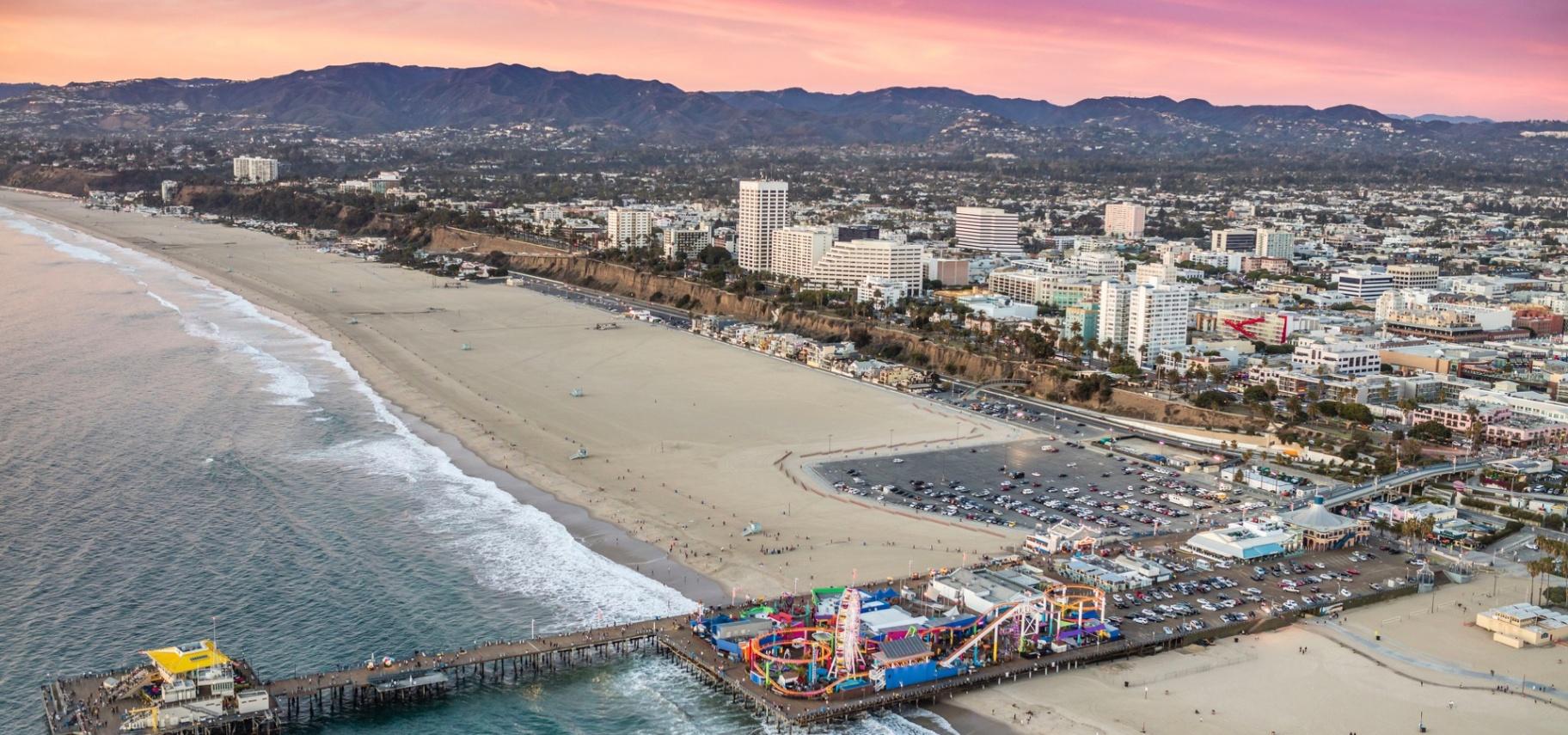 koppla in Santa Monica